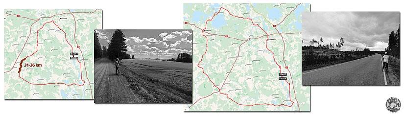 Велосипедные маршруты по Финляндии. 69 и 103 км