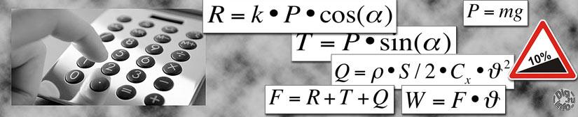 Калькулятор расчета мощности от скорости