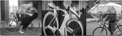 Road bike aerodynamics improvement