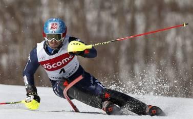 Мастер сверхузкого ведения лыж Стефано Гросс (Stefano Gross)