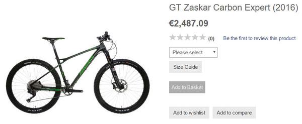 велосипед дешевле 2500 евро