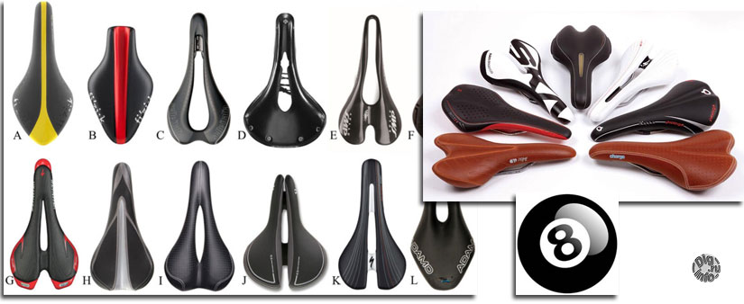 Bicycle saddle number eight (part I)
