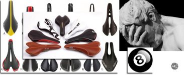 Bicycle saddle number eight (part II). Saddle profile