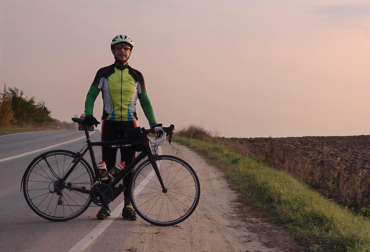 Vadim Nikitin cycling