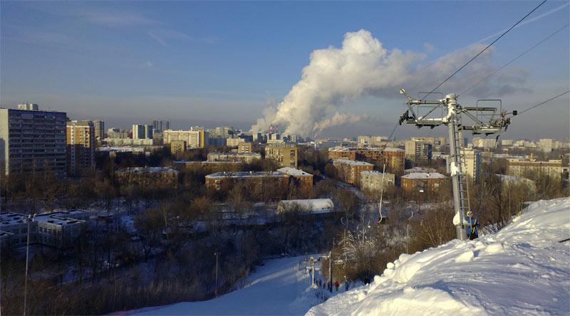 Москва, горнолыжный центр Кант