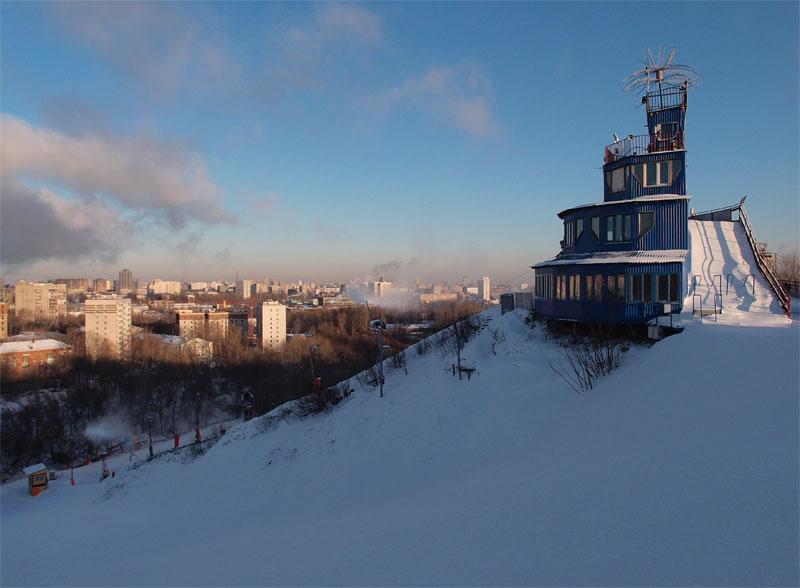 Москва горнолыжный центр Кант