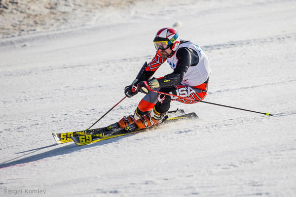 Алексей Ёлкин горные лыжи