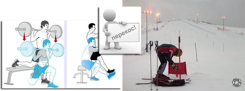 How important is the physical condition for slalom in Moscow?