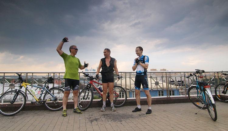 Вадим Никитин велосипед Евгений Казаков