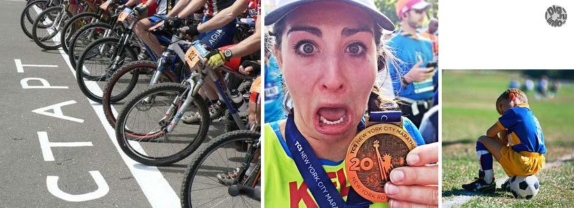 Катание на велосипеде и спортивные мероприятия. Часть 1