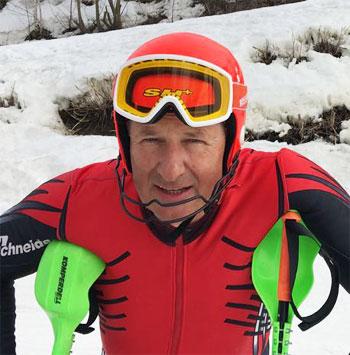 Sergey Kuznetsov alpine ski