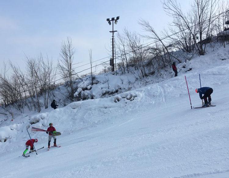 Vadim Nikitin, Alexander Mityakov, Alexey Krugyiy, alpine ski