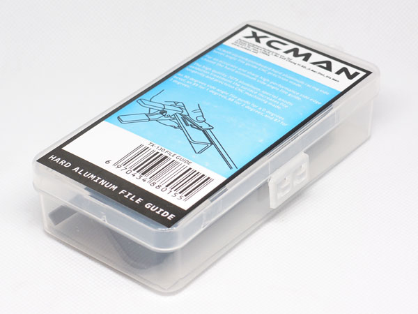 Уголок для лыж XCMAN hard aluminum file guide ski