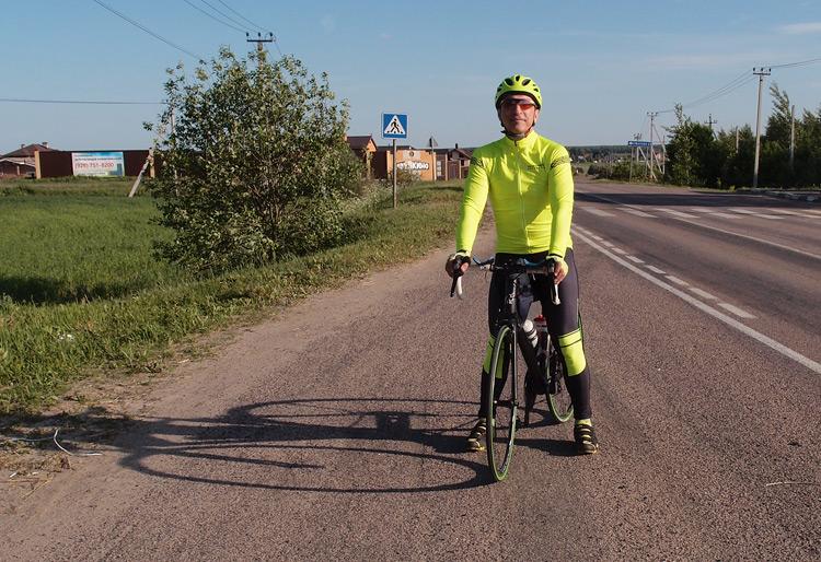 Вадим Никитин велосипед