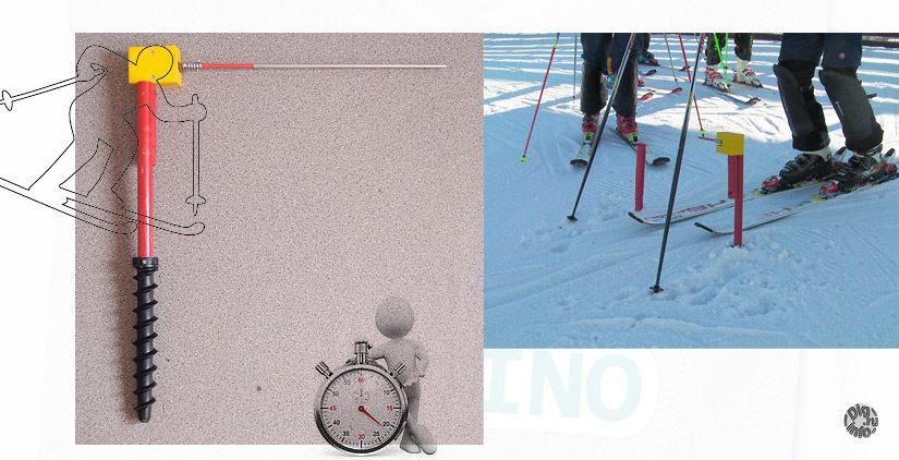 Хронометраж для горных лыж на Ардуино. Стартовая калитка