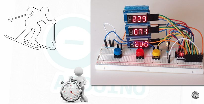 Timing system for Alpine skiing based on Arduino. Logic
