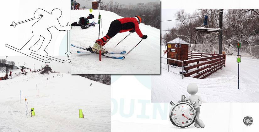 Хронометраж для горных лыж на Ардуино. Испытания на снегу
