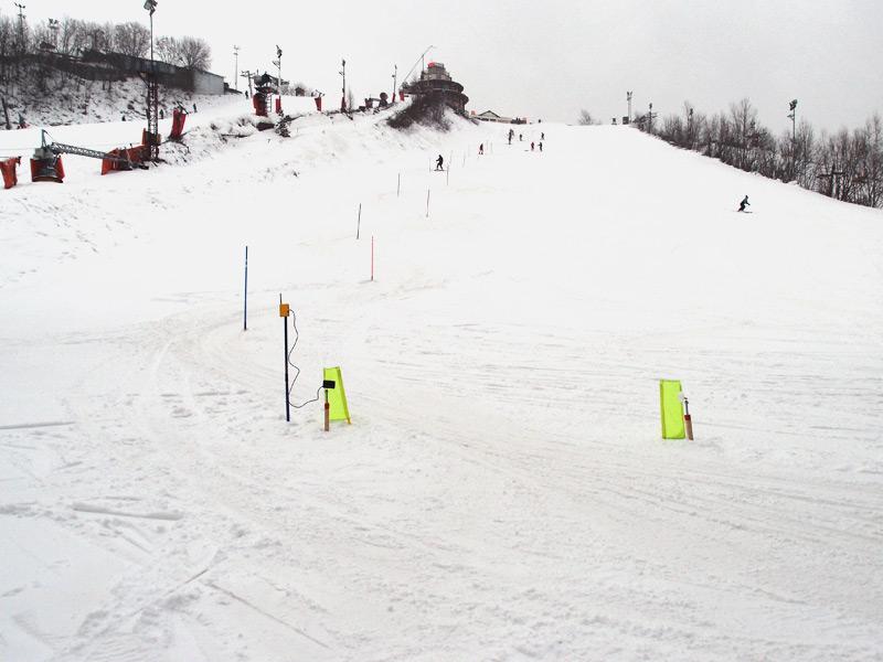 Photo finish Arduino timing skiing