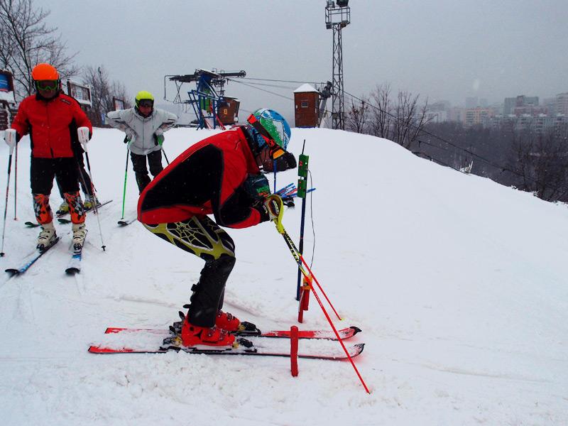 Alexander Mistryukov alpine skiing Arduino timing start